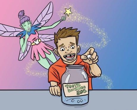 Kids' Money Personality: The Tooth Fairy Savings Plan