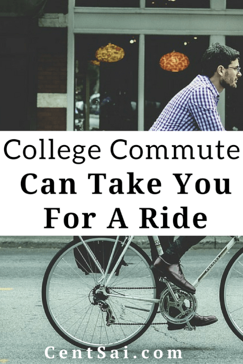 College Commute Can Take You For A Ride. Spending money for transportation to get to class can add up...fast!