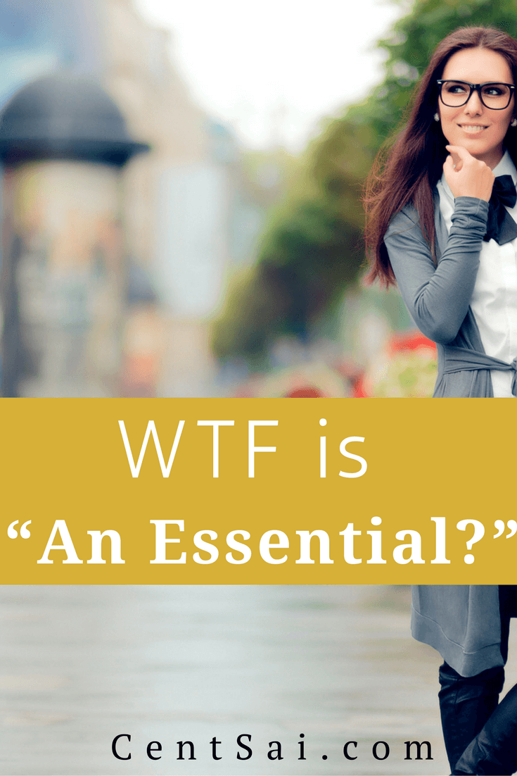 """The younger generations' definition of what is """"essential"""" has broadened to include, well... non-essentials. But is this a bad thing?"""