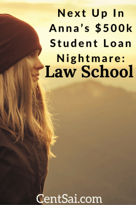 Anna Perry is saddled with a huge amount of student loans, much of which is compound interest. Today she lives on a boat and is working her way through.