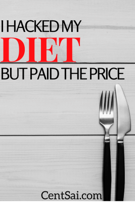 Spending money on food is optional. Find out how I Hacked My Diet But Paid the Price