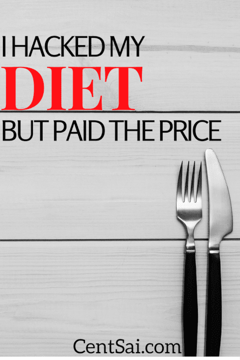 Spending money on food is optional find out how I hacked my diet but paid the price.