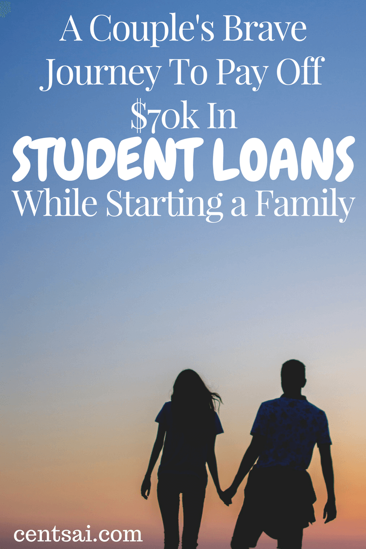 A Couple's Brave Journey To Pay Off $70k In Student Loans While Starting a Family