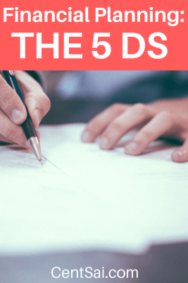 Financial Planning The 5 Ds