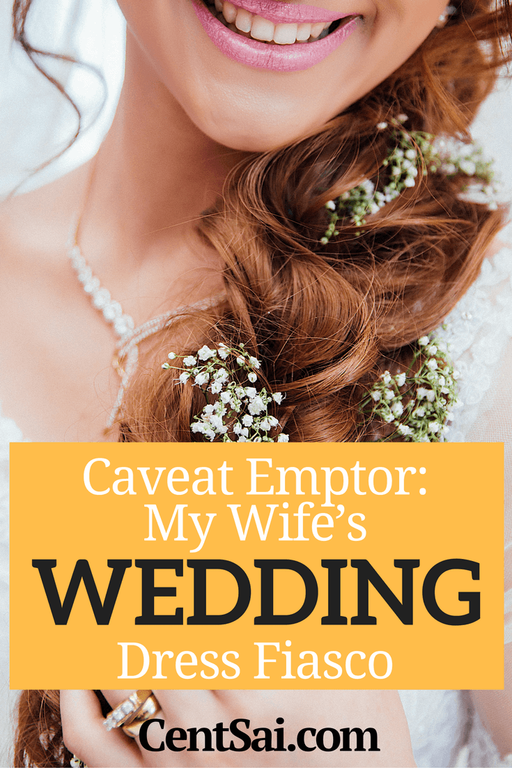 My wife's online escapade to buy her wedding dress online turned into a nightmare. Find out how.