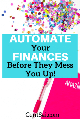 Automating your finances can help you get on track with your savings goals and – most importantly – spare you the effort of staying on top of bills. To me, this is priceless.