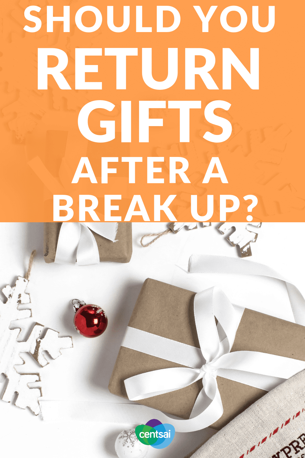 Should You Return Gifts After a Break Up? Is returning gifts after a breakup a good idea? What about keeping them? Or maybe you should just burn them. Breakup etiquette for gifts is confusing — not to mention emotional. Read one man's novel take on the subject. #relationshop #breakup #personalfinance #etiquette