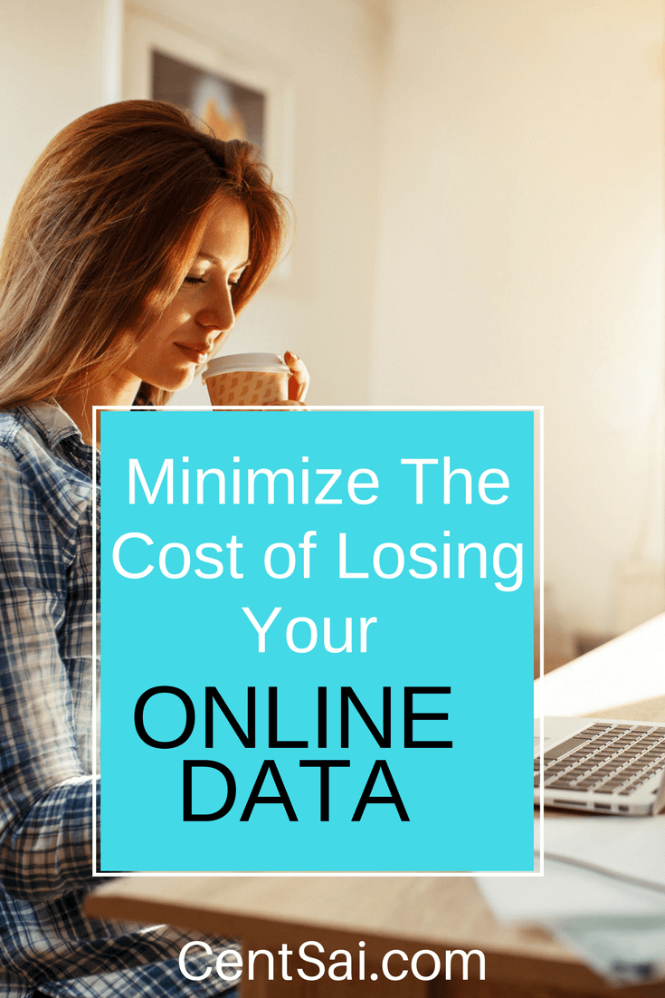 Minimize The Cost of Losing Your Online Data. You've heard it said often - time is money. Today, personal data is even bigger money, and you need to know how to protect yours.