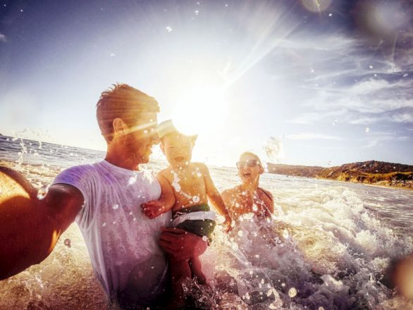 Swimming the Financial Currents With Kids in Tow