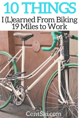 10 Things I Learned From Biking 19 Miles To Work