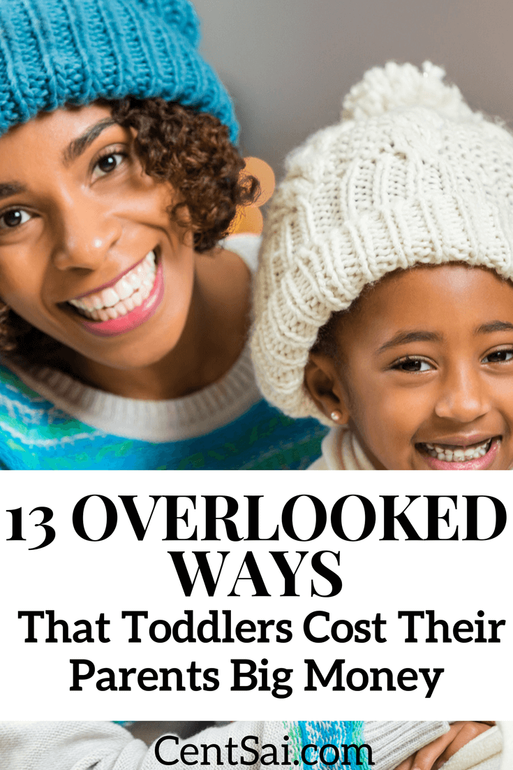 One thing that isn't taken into account when budgeting for kids? Toddlers have great destructive powers, and they can wreck your budget.
