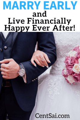 While my experience with money and marriage might not be the same as everyone else who marries young, here are some reasons why I think it can be an asset: