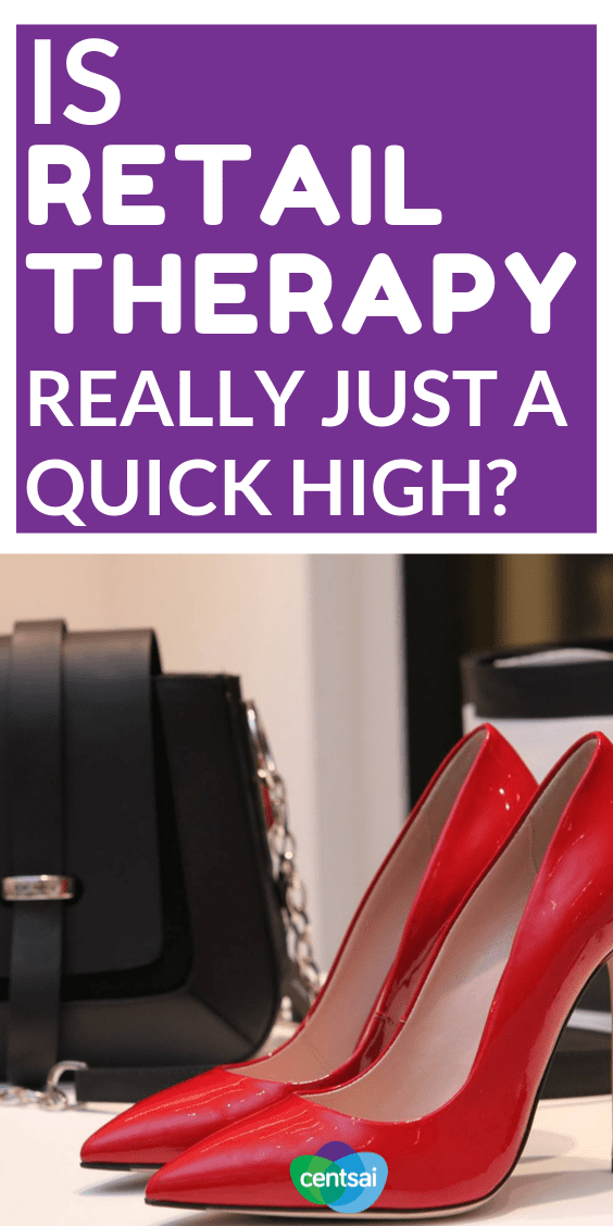 Is Retail Therapy Really Just A Quick High? Retail therapy or shopping has earned its way into our jargon via its frequent usage. But the costs associated with this form of therapy may be both hidden and expensive. #ideas #sign #fashionstyles