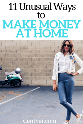 There's never been a better time to make money at home. In addition to traditional options like freelance blogging, remote customer service, or opening an Etsy store, you can earn cash in more unusual ways: try renting out your driveway, taking trivia surveys, or even becoming an online juror.