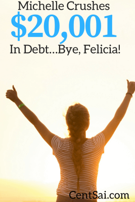 At 8:02 PM we met our goal of paying down $20,001-worth of debt. Here's looking back on nine very frugal months.