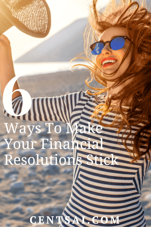 If you can take your financial resolutions and break them down into smaller sub-goals, you'll have a much better chance of completing them.