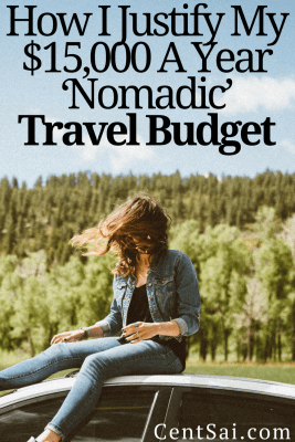 Every time I am tempted to buy something, I wonder if it is worth one full day of nomadic travel budget, discovering new places, and living my nomadic lifestyle to the fullest. More often than not, the answer is no.