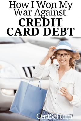 How I Won My War Against Credit Card Debt
