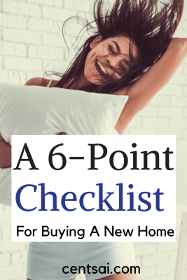 A 6-Point Checklist For Buying A New Home