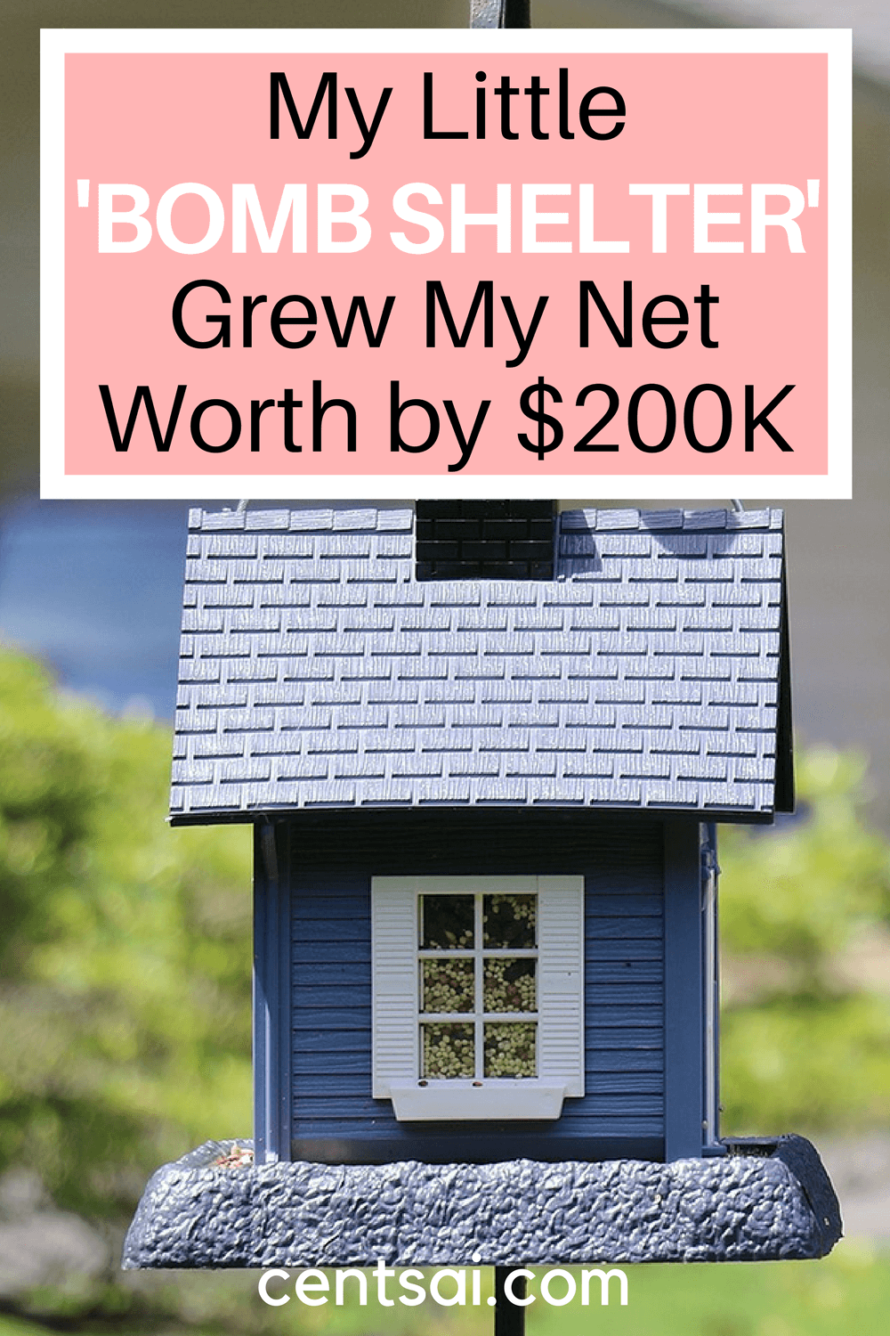 My Little 'Bomb Shelter' Grew My Net Worth by $200K. Finding reasonably priced real estate whose value is bound to appreciate in the long run can do wonders for your net worth.