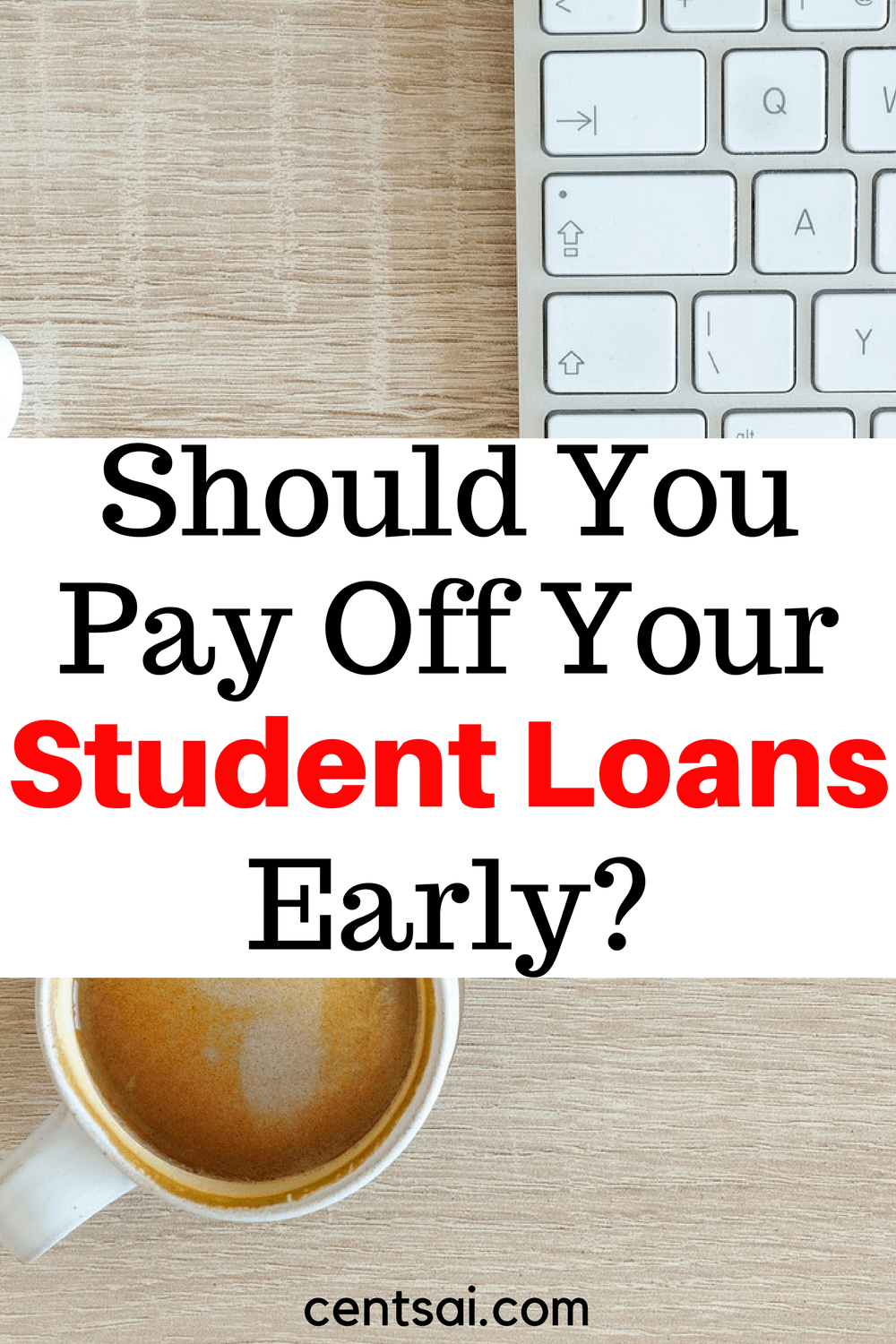 It may seem like an easy choice at first, but there are some major pros and cons to paying off your student loans early.