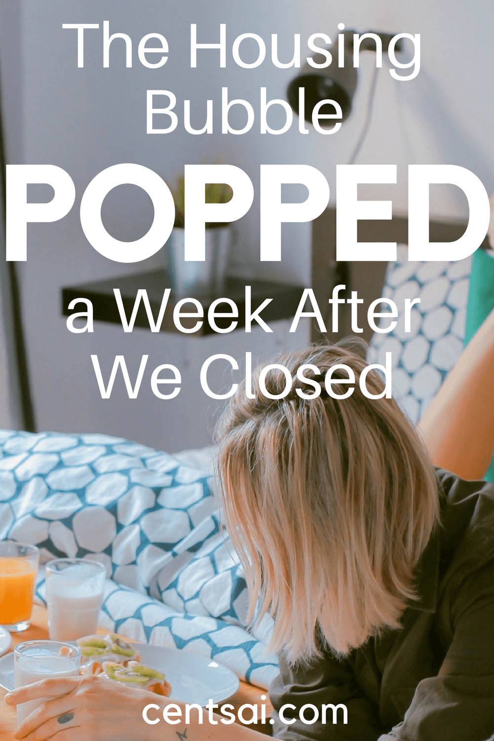 The housing bubble popped on us as soon as we bought our home, but with some renovations and some planning, we actually improved its value.