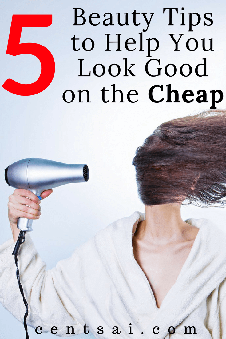 5 Beauty Tips to Help You Look Good on the Cheap! I've found a few ways to save money on some basic beauty procedures. You don't have to pay $600 for highlights to look good!