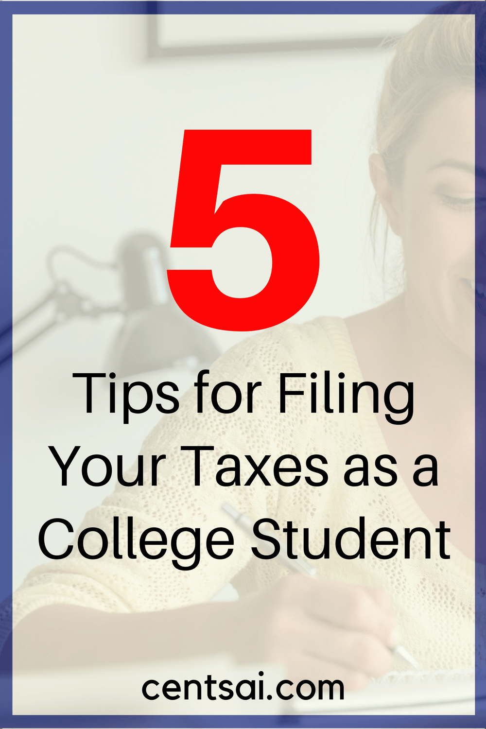 5 Tips for Filing Your Taxes as a College Student. Time to sit for yet another test – tax filing! Make sure you get it right the first time.