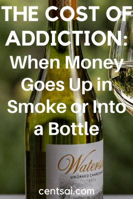 The Cost of Addiction: When Money Goes Up in Smoke or Into a Bottle