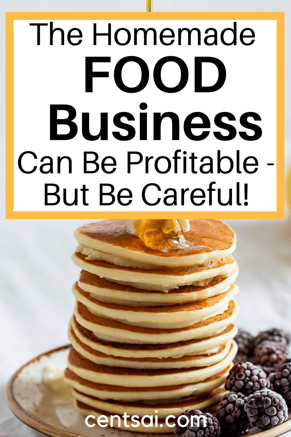 Could you use some extra money? Do you love to cook? Then starting a homemade food business might be just the thing for you. Read up on the perks, pitfalls, and how-tos of this sweet little side hustle, and cook your way to a delicious profit. #CentSai #sidehustleideas #sidehustletips #makemoremoney #sidehustleideasathome