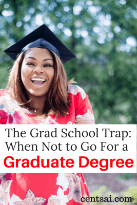 The Grad School Trap: When Not to Go For a Graduate Degree