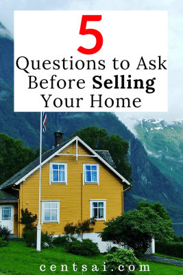 5 Questions to Ask Before Selling Your Home: Yes! I just sold my home smoothly by considering and following these process and it's very effective!