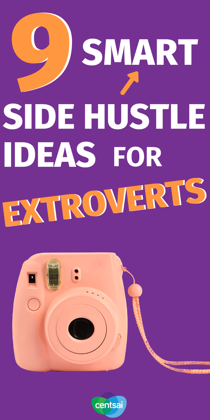 Are you naturally an extrovert? If you like people and are blessed with an outgoing personality, why not use this advantage to make some cash through a side hustle? #CentSai #sidehustleideas #sidehustle #makemoremoney #makemoremoneyideas