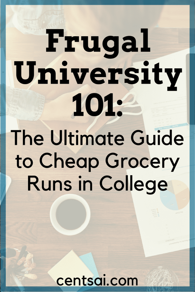 Frugal University 101: The Ultimate Guide to Cheap Grocery Runs in College. Cutting your grocery bills while keeping yourself well-nourished is not something that they teach you how to do in college.