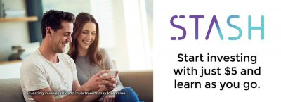 """Stash Invest As - """"learn as you go"""""""