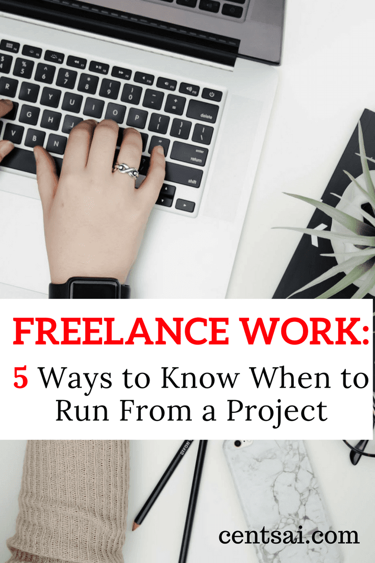 "Freelance work is often grueling, but sometimes things may go too far or a client may ask too much. So make sure you know when to say ""no."""