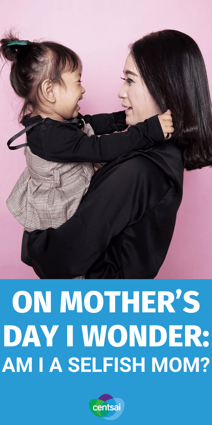 All parents worry about whether they're raising their kids right. On this Mother's Day, one mom analyzes her own choices as a parent. #CentSai #mothersday #mothersdayidea #women #parenting