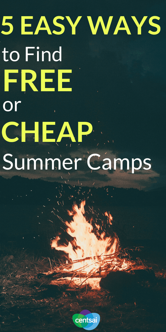 Do you ever find yourself looking for affordable summer camps, only to find that most places cost an arm and a leg? Never fear — we've got some tricks up our sleeve. Check out these tips and ways to find cheap summer camps. Some are even free. #savingtips #CentSai #frugaltips #money