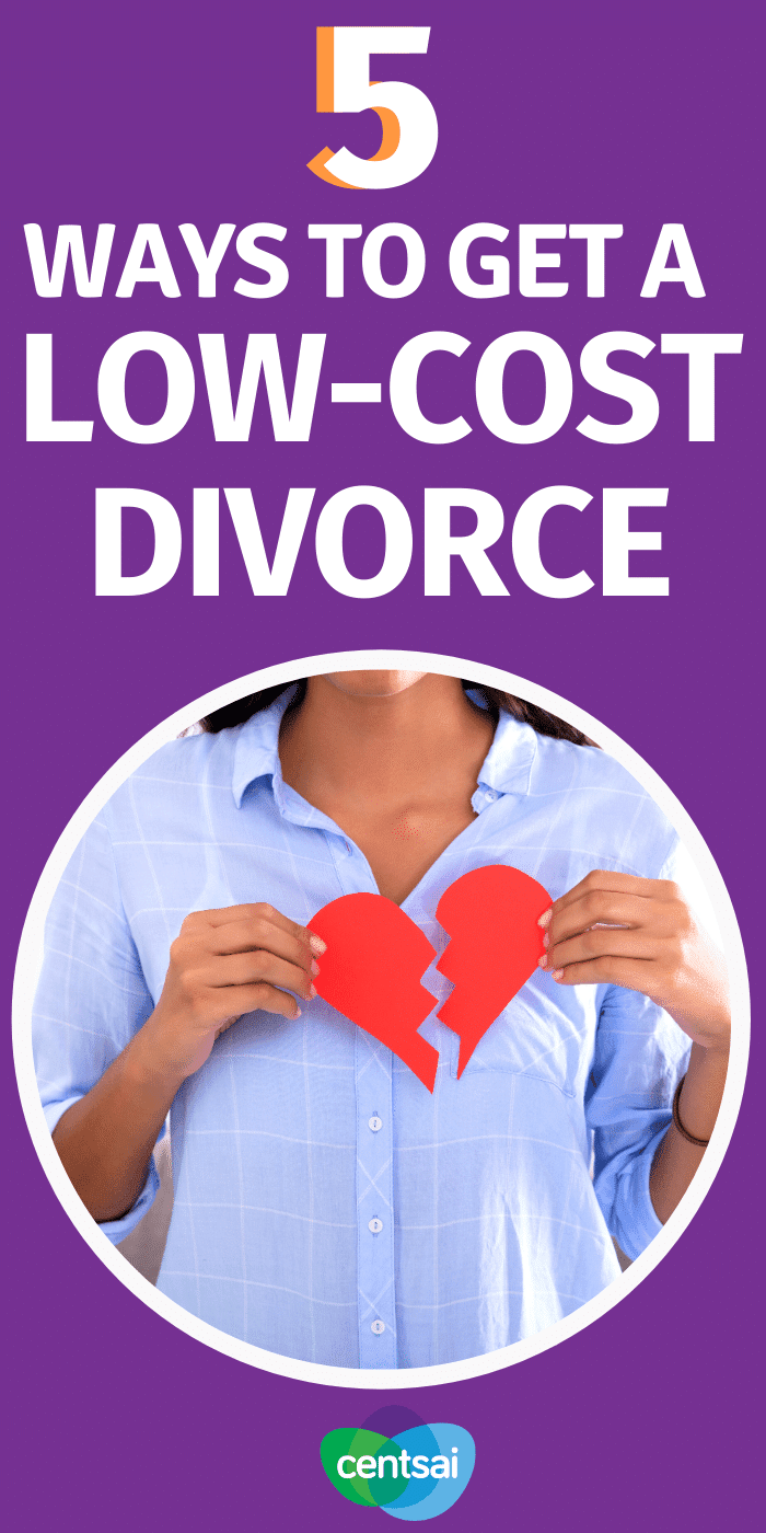 5 Ways to Get a Low-Cost Divorce