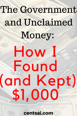 The Government and Unclaimed Money: How I Found (and Kept) $1,000