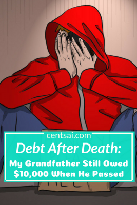 Debt After Death: My Grandfather Still Owed $10,000 When He Passed. Can you inherit debt when a loved one dies? In some cases you may, but not all. Learn what happens to debt after death. #debt #inheritdebt