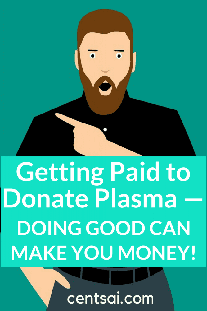 Getting Paid to Donate Plasma — Doing Good Can Make You Money! Need extra cash, but don't know where to start? Your body is literally a money-making machine! Did you know that you can donate plasma for money? Yes, you read it right! #makemoney #extramoney