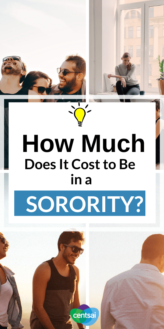 How Much Do Sororities Cost? The Real Price of Going Greek. For many, Greek life is an essential part of the college experience. But how much do sororities cost? It may be more than you think. #life #CentSai #lifestyle
