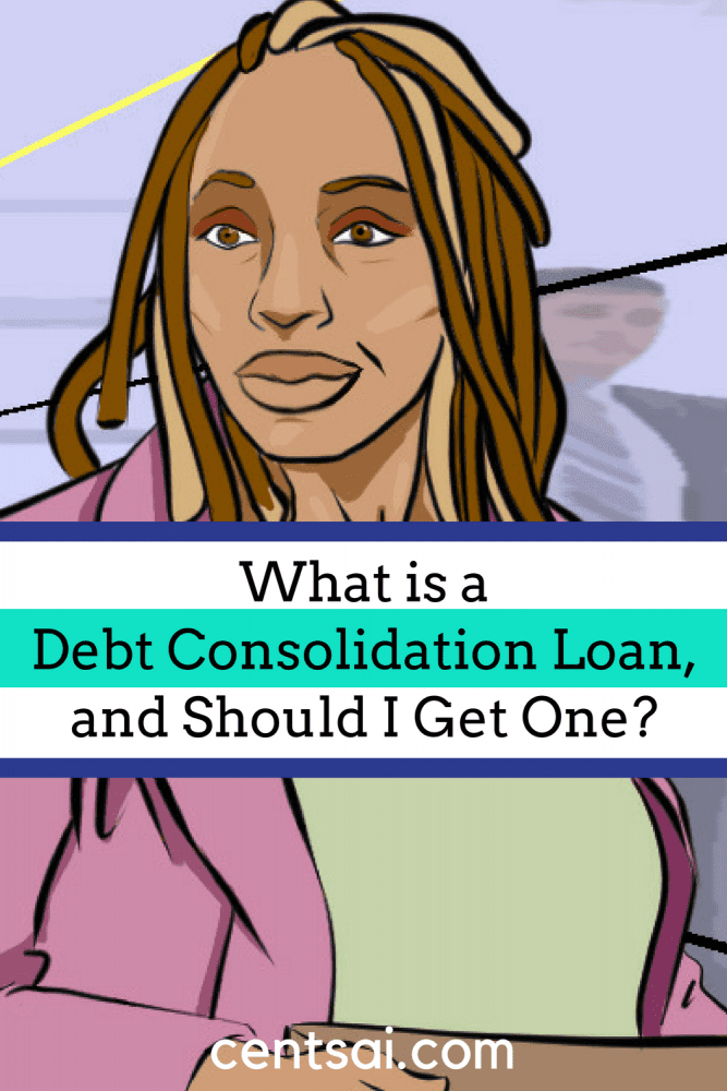What is a Debt Consolidation Loan, and Should I Get One? #Debtconsolidation is the process of taking out one loan to pay off all your other loans. In other words, you consolidate all of your debt by paying off your current loans.