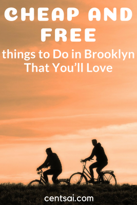 Cheap and Free Things to Do in Brooklyn That You'll Love. Love New York, but hate how expensive it can get? Check out these cheap and free things to do in Brooklyn, and you'll be having a (frugal) ball in no time. #travel #frugaltips #traveldestinations #cheap