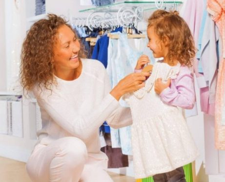 One Mom's Secret for Getting Cheap Children's Clothes