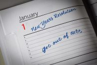 top New Year's resolutions - 2018 New Year's resolutions
