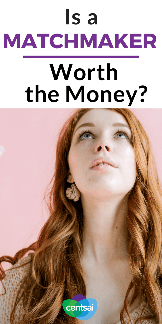 Yep, it's still a thing: real-life, matchmaking services. But is a matchmaker worth the money? Can't you just hop on OKCupid or Bumble? Read and find out!? #relationship #CentSai #Dating