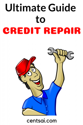 Ultimate Guide to Credit Repair. Trying to fix your bad credit? It can be a daunting process rife with peril. Luckily CentSai has created the Ultimate Guide to Credit Repair to help you through the journey. Don't miss out on buying a house or getting a job just because you have bad credit. Start fixing your credit today with help from our experts. #creditcard #creditrepair