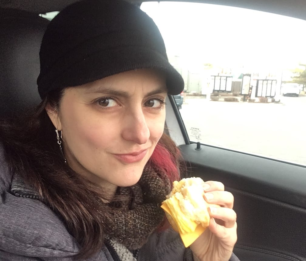Cheap Meals: Can Fast Food Be Healthy? | Pia Catton Eats an Egg & Cheese Biscuit (Fast-Food Meals)